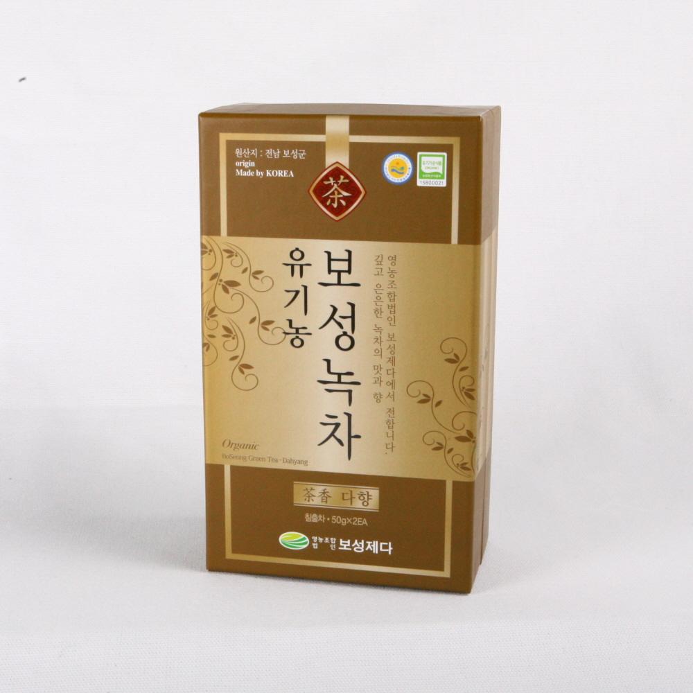 [일반포장]유기농 보성녹차(다향)